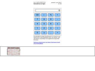 La calculatrice et calculette scientifique