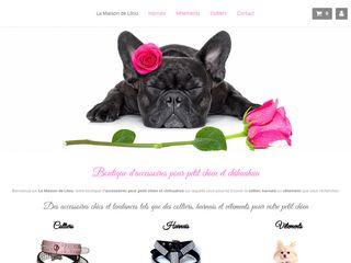 Boutique pour tous les petits chiens chics
