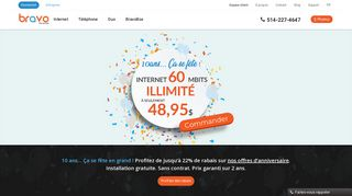 Bravo Telecom – Fournisseur d'accès Internet