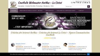 Cnathalie Création site internet La Ciotat