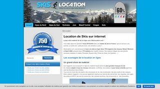 La location de ski en ligne plus facile avec SkisLocation