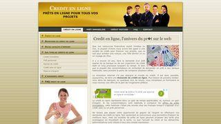 Crédit en ligne personnalisé